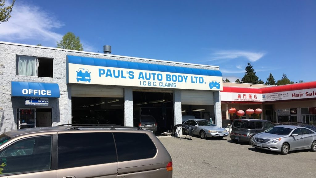 Auto body and collision repair services Coquitlam BC