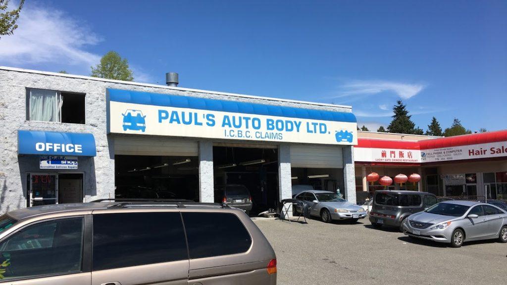 Auto body and collision repair services Coquitlam BC