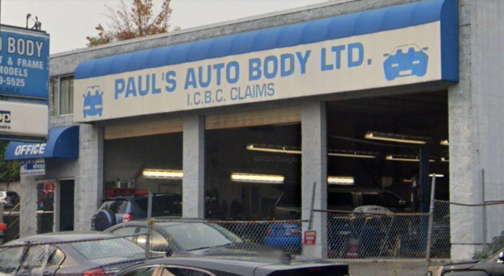 Car repair,Auto Body Coquitlam,Paul's Auto Body