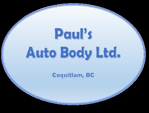 Pauls Auto Body logo basic